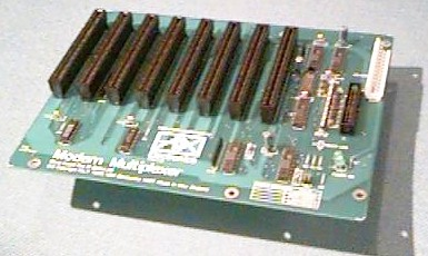 picture of the backplane board